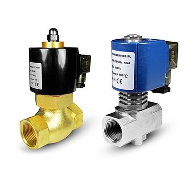 Vruća voda i elektromagnetski ventili za vodu 180 ° C