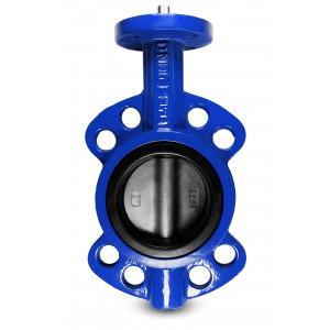 Leptir ventil, prigušnica DN80 - nehrđajući čelik