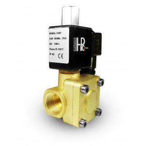 Elektromagnetski ventil otvoren 2K15 NO 1/2 inča 230V ili 12V 24V