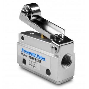 Ručni ventil 3/2 aktuatori MOV321R 1/8 inča