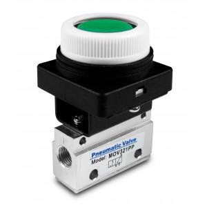 Ručni ventil 3/2 Pogoni MOV321PP 1/8 inča