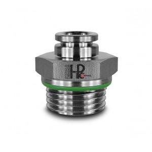 Utaknite bradavicu ravno crijevo od nehrđajućeg čelika 8 mm navoj 3/8 inča PCS08-G03