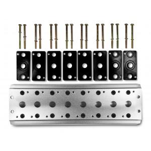 Kolektorska ploča za spajanje 8 ventila 1/4 serije 4V2 4A Grupni priključak 5/2 5/3