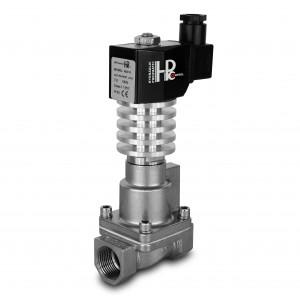 Solenoidni ventil za paru i visoku temperaturu. RHT15-SS DN15 300C 1/2 inča