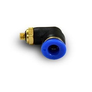 Crijevo kutne čepne nazuvice 4 mm navoj M5 PL04-M05