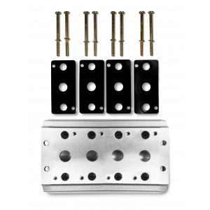 Kolektorska ploča za spajanje 4 ventila serije 4V2 4A Grupni priključak 5/2 5/3