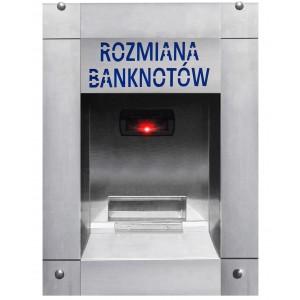 Menjač novca za novčanice u autopraonici (vodootporan)