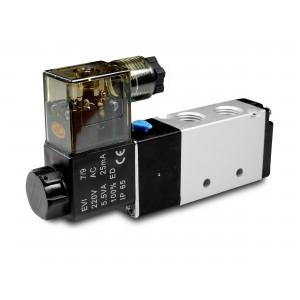 Elektromagnetski ventil 5/2 4V410 1/2 inča za pneumatske cilindre 230V ili 12V, 24V