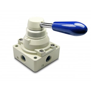 Ručni ventil 4/3 4HV230-08 Pokretači od 1/4 inča