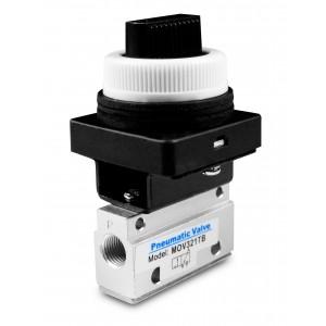 Ručni ventil 3/2 Pogoni MOV321TB 1/8 inča