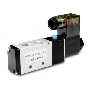 Elektromagnetski ventil za pneumatske cilindre 4V210 5/2 1/4 230V 12V 24V