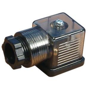 Utikač na magnetni ventil 18 mm DIN 43650 sa LED