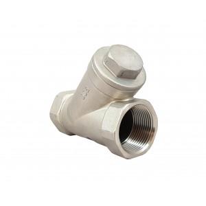 Nepovratni ventil Y tip DN40 1 1/2 inča - nehrđajući čelik SS316