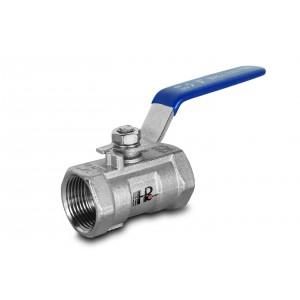 Kuglični ventil od nehrđajućeg čelika 1 inč DN25 s ručnom polugom - 1 komad