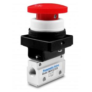 Ručni ventil 3/2 Pogoni MOV321EB 1/8 inča