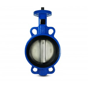 Leptir ventil, prigušnica DN100 - disk poniklan