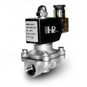 Elektromagnetski ventil 2N15 1/2 inčni nehrđajući čelik SS304 Viton