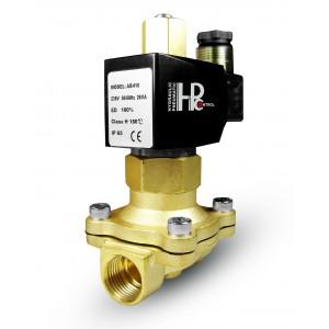Elektromagnetski ventil otvoren 2N25 NE 1 inčni 230V ili 12V, 24V, 42V