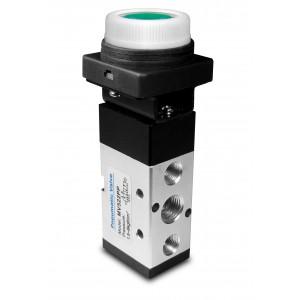 Ručni ventili 5/2 MV522PP aktuatori od 1/4 inča