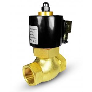 Elektromagnetski ventil za paru i visoku temperaturu. 2L40 DN40 180 ° C 1 1/2 inča