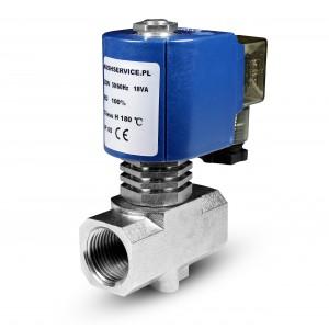 Elektromagnetski ventil za paru RV15 1/2 inča 180C