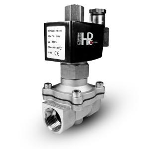 Elektromagnetski ventil otvoren 2N25 NO 1 inčni nehrđajući čelik SS304 Viton