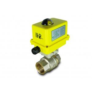 Kuglični ventil 1 1/2 inča DN40 s električnim aktuatorom A250