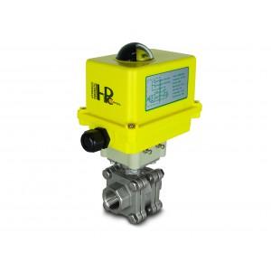 Kuglični ventil visokog tlaka 1 inč DN25 PN125 aktuator A250