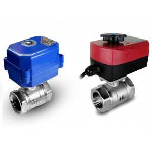 Kuglični ventil 1/2 inča s električnim aktuatorom A80 ili A82
