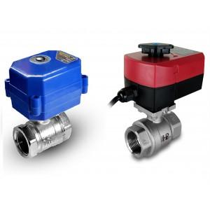 Kuglični ventil 1/2 inča od nehrđajućeg čelika s električnim aktuatorom A80 ili A82
