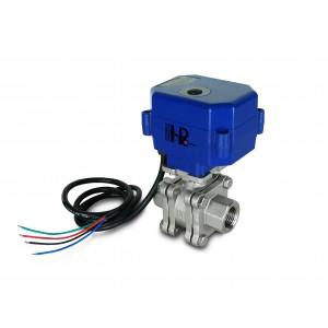 1/2 inčni visokotlačni kuglični ventil PN125 s pogonom pogona A80 ili A82