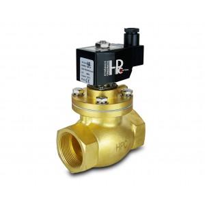 Solenoidni ventil za paru i visoku temperaturu. otvoren LH50-NO DN50 200C 2 inča