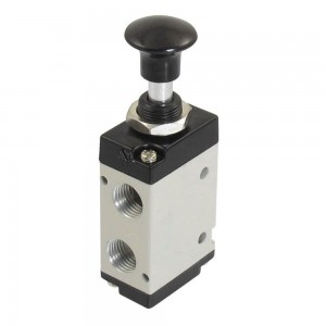 Ručno pritisnuti ventil 5/2 4L210 1/4 inča za aktuatore