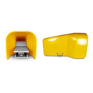 Nožni ventil, papučica zraka 5/2 1/4 za cilindar 4F210LG - bistabilan s poklopcem