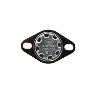 Bimetalni termostat, NC temperaturni senzor 5 ℃ 10A 230VAC tip KSD301