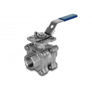 Kuglični ventil visokog pritiska 1/2 inča DN15 PN125