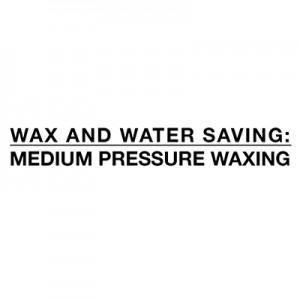 Štednja vode i voska - depilacija srednjim pritiskom