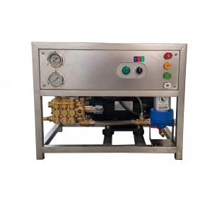 Postavite pumpu i motor na okvir za pranje s priborom 13 l / min 150 bara ekvivalent CAT350