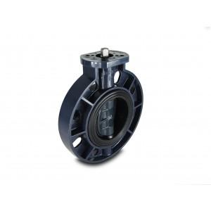 Leptir ventil, leptir za gas UPVC DN125