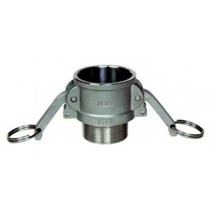 Camlock konektor - tip B 1/2 inčni DN15 SS316